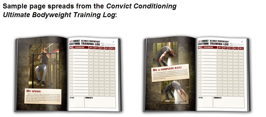 Convict Conditioning Training