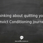 convict conditioning program